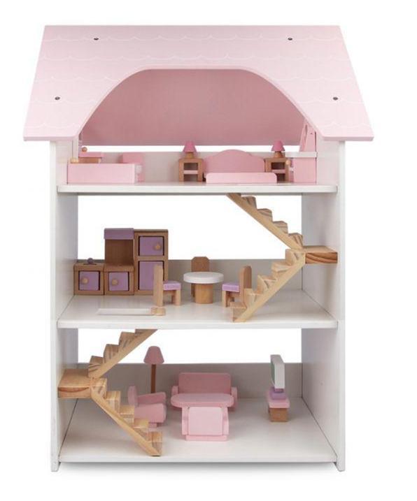 domki dla lalek, zabawki, artykuł partnerski