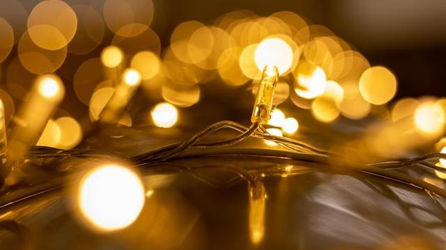 Świąteczne oświetlenie do domu