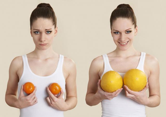 Kilka sztuczek, które sprawią, że Twój biust stanie się większy