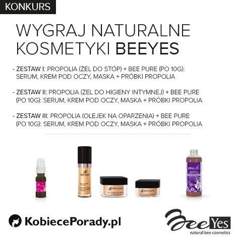 [KONKURS] Do wygrania zestawy naturalnych kosmetyków firmy BeeYes