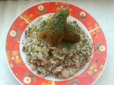 Szpinachotto, czyli risotto ze szpinakiem