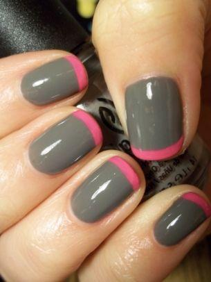 paznokcie długie, paznokcie brokatowe, paznokcie w kropki, paznokcie wzory, paznokcie różowe, paznokcie pudrowe