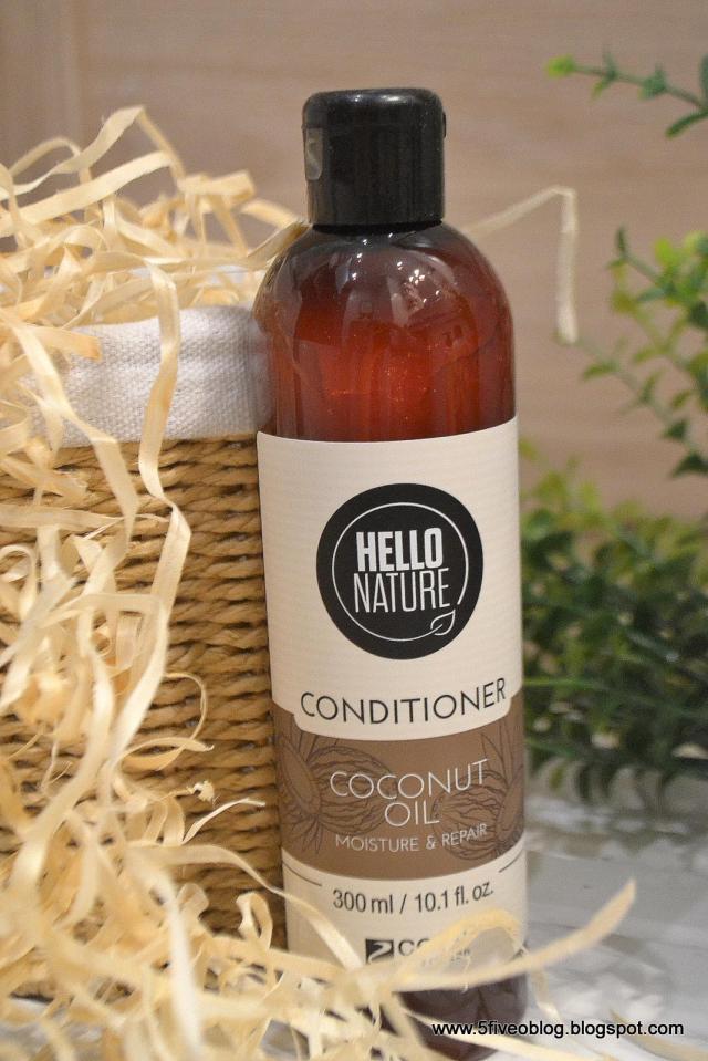 I cóż, że ze Szwecji... Odżywka do włosów Hello Nature z olejkiem kokosowym
